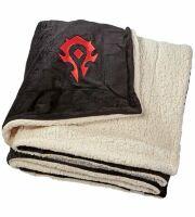 Одеяло со знаком Орды (World of Warcraft Horde Logo Blanket) 210 x 150 cm