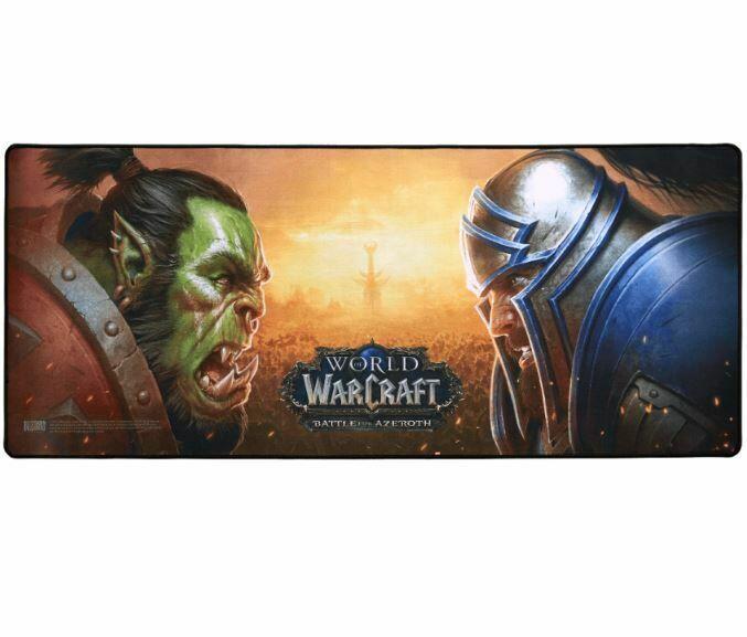 Коврик игровая поверхность World of Warcraft: Battle for Azeroth Gaming Desk Mat (90*37cm)
