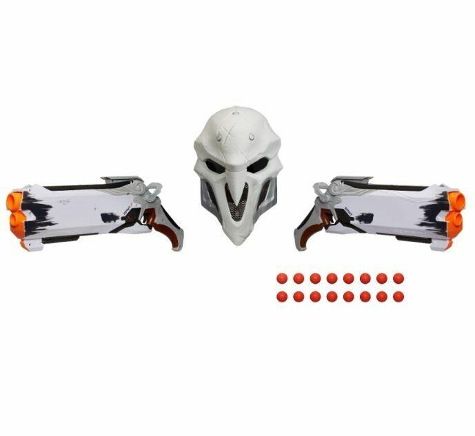 Overwatch Wight Reaper Nerf Rival Blaster 2-Pack and Mask Овервотч оружие игрушка маска Жнец