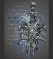 Футболка World of Warcraft Frostmourne Hungers T-Shirt (размер L)
