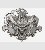 Брелка-Diablo III обличчя брелок