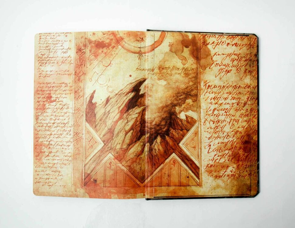 Альбом Diablo III: Book of Cain Sketchbook (Hardcover)