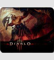 Коврик - Diablo 3 Barbarian logo