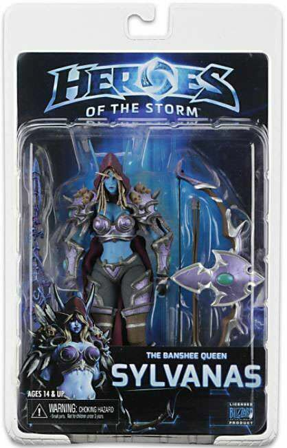 Фигурка Heroes of the Storm Sylvanas Action Figure NECA