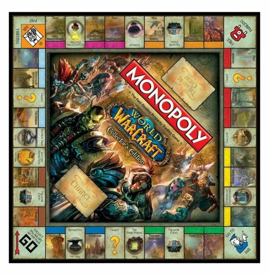 Настольная игра Monopoly: World of Warcraft Collectors Edition