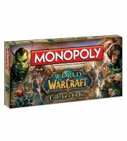 Настольная игра Monopoly: World of Warcraft Collectors Edition