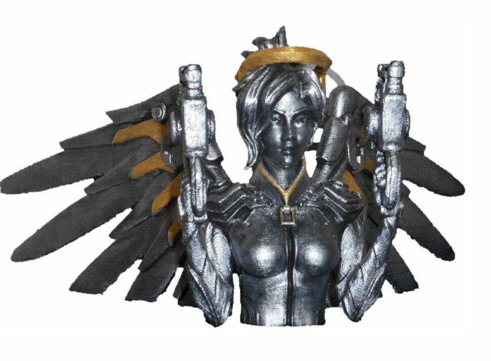 Бюст Фигурка Overwatch Mercy Ангел bust