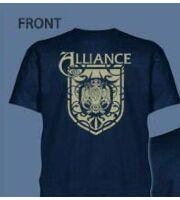 Футболка ALLIANCE World of Warcraft (мужск., размер L)
