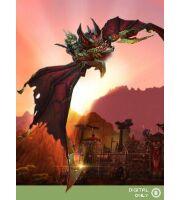 WoW Mount: Armored Bloodwing (бронированный кровокрыл)