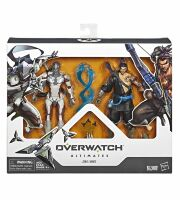 Фигурка Overwatch Ultimates Series Genji and Hanzo Collectible Action Figure Dual Pack