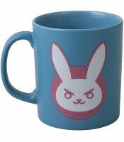 Чашка JINX Overwatch - D.VA Ceramic Blue/Pink