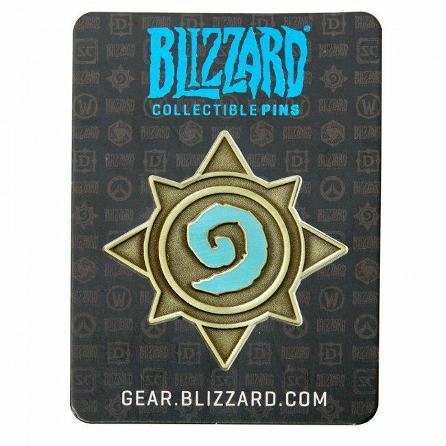 Значок 2016 Blizzcon Blizzard Collectible Pins - Hearthstone Logo Pin