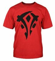 Футболка World of Warcraft Mists of Pandaria Horde Faction Logo T-Shirt (размер M)