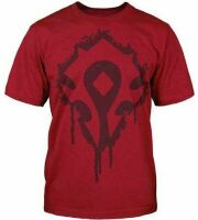 Футболка World of Warcraft Horde Crest Stencil T-Shirt  (размер L)