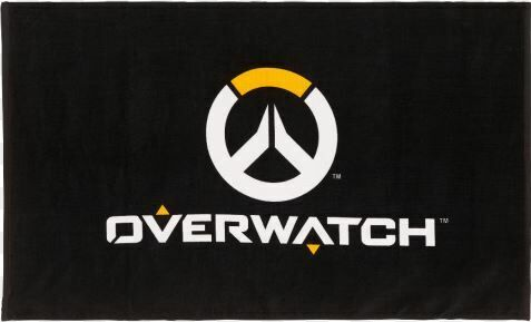 "Полотенце Overwatch Logo Beach Towel Black 60"" x 35"""