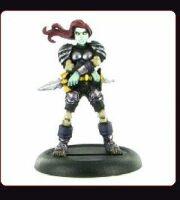 Warcraft  Miniatures Core Mini: KAYLEITHA
