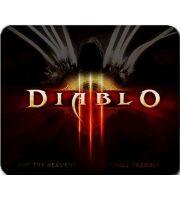 Коврик - Diablo 3 classic logo