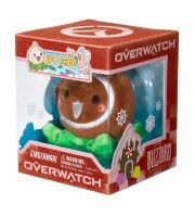Мягкая игрушка - Overwatch Mini Pachimari Plush Hangers - Gingermari