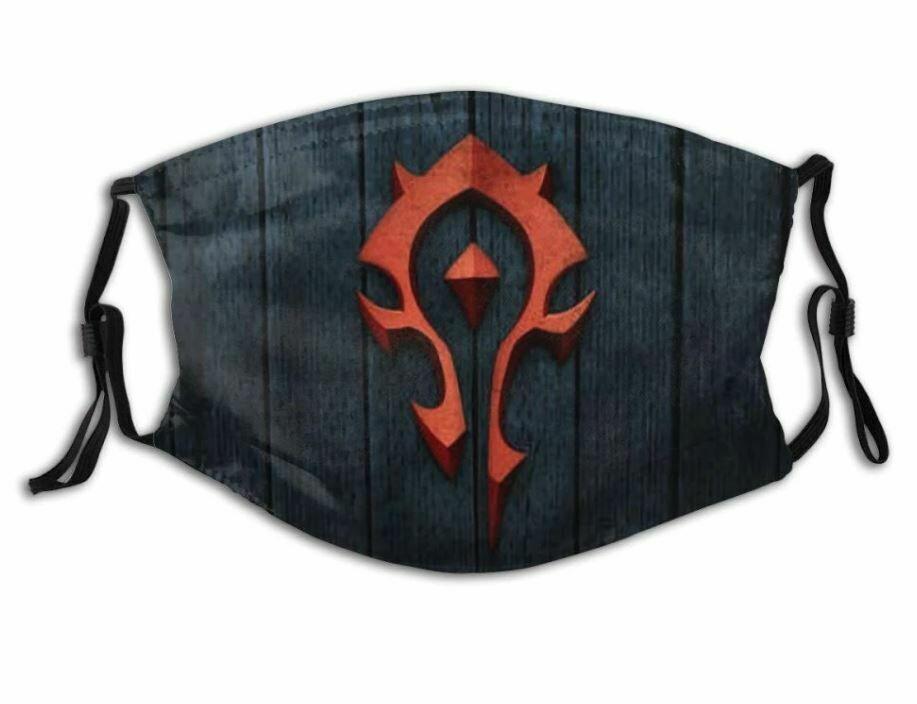 Маска защитная для лица World of Warcraft Horde Орда + 2 угольных фильтра