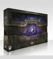 StarCraft II: Heart of the Swarm. Коллекционное издание (коробка с диском без ключа)