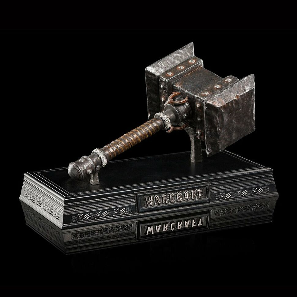 Реплика WARCRAFT Doomhammer of Orgrim by WETA