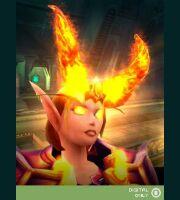 Декоративный доспех: Диадема повелителя огня (Jewel of the Firelord)