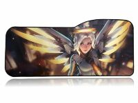 Коврик Overwatch Large Gaming Mouse Pad - Mercy Ангел (70*32 см) Curve