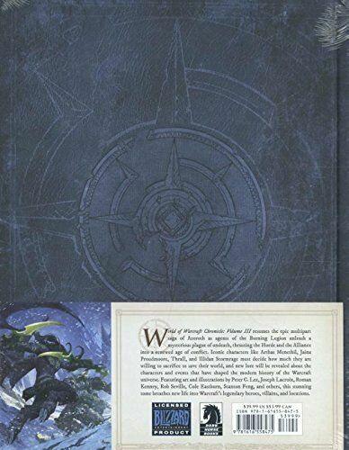 Книга World of Warcraft Chronicle Volume 3 Hardcover Edition (Твёрдый переплёт) (Eng)