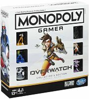 Monopoly Gamer Overwatch Collectors Edition Монополія настільна гра Овервотч