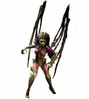 Starcraft II Premium Series 2 Kerrigan Queen of Blades Action Figure