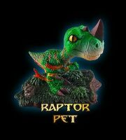 World of Warcraft Pet: RAPTOR PET (Фигурки петов: раптор)