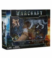Набор фигурок Warcraft Movie - Battle Lothar vs Blackhand Set