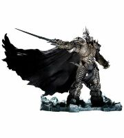 DC World of Warcraft Arthas Menethil The Lich King Deluxe  Action Figure