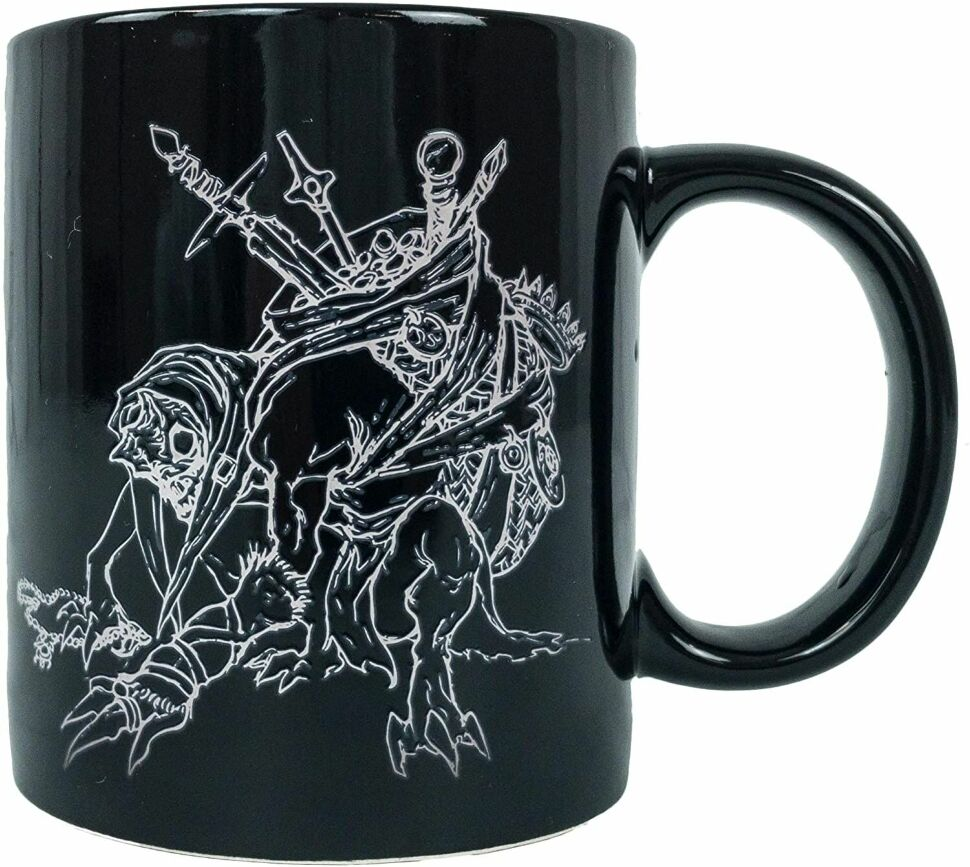 Чашка Diablo Heat Color Changing LootGaming Mug Blizzard