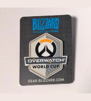 Значок 2017 Blizzcon - Overwatch World Cup Pin