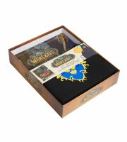 Подарочный набор Gift Set World of Warcraft Cookbook: Книга + фартух Орда/Альянс
