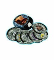 Набор подставок под чашку Starcraft Joey Ray's Bar Coaster Tin Set