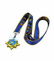 Светящийся медальон Hearthstone Lanyard with Light-Up Charm