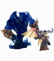 World Of Warcraft — Gnome Warlock: Valdemar with Voidwalker Voyd Premium Figure