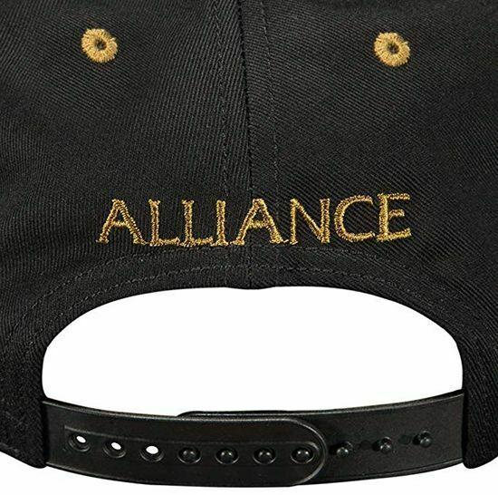 Кепка JINX World of Warcraft - Legendary Alliance Premium Snap Back Альянс