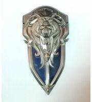 World of Warcraft Alliance Logo Shield Metal #2