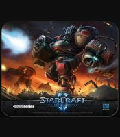 Коврик SteelSeries QcK mini StarCraft 2  Marauder (21 x 25 см.)