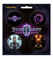 Набор Значков StarCraft II Heart of the Swarm Pin Pack