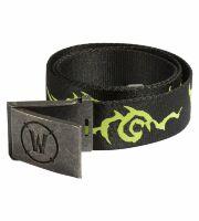 Ремень + Пряжка World of Warcraft Legion Logo Belt