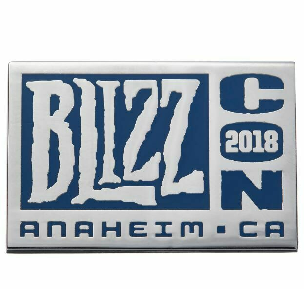 Значок 2018 BlizzCon Collectible Pin