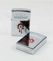 Зажигалка WORLD OF WARCRAFT   Horde (silver)