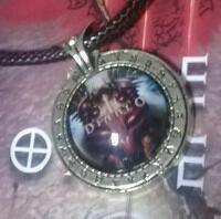 Медальон Diablo (Металл + стекло)