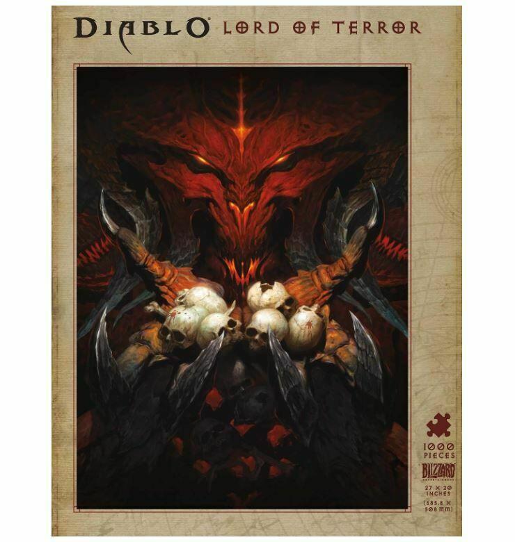 Пазл Diablo Lord of Terror Puzzle 1000-Piece