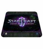 Коврик SteelSeries QcK Starcraft II Heart of the Swarm Logo
