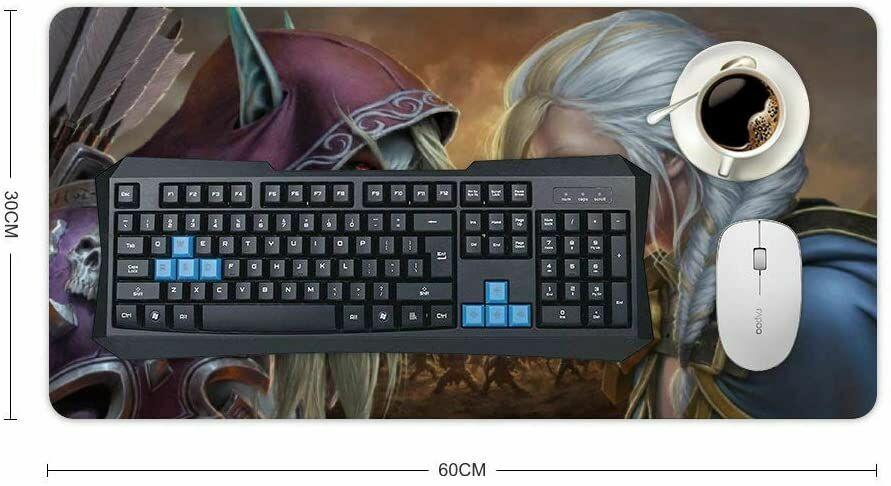 Коврик игровая поверхность World of Warcraft Sylvanas vs Jaina Desk Mat (60*30 cm)